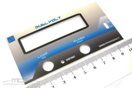 Etichetta poliestere in stampa digitale
