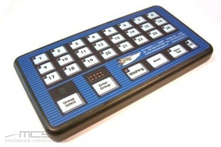Tastiera con contenitore personalizzato