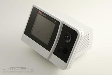 Contenitore per elettronica con display