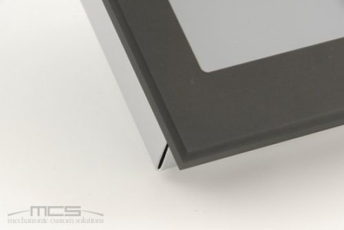 Cornice per display in alluminio