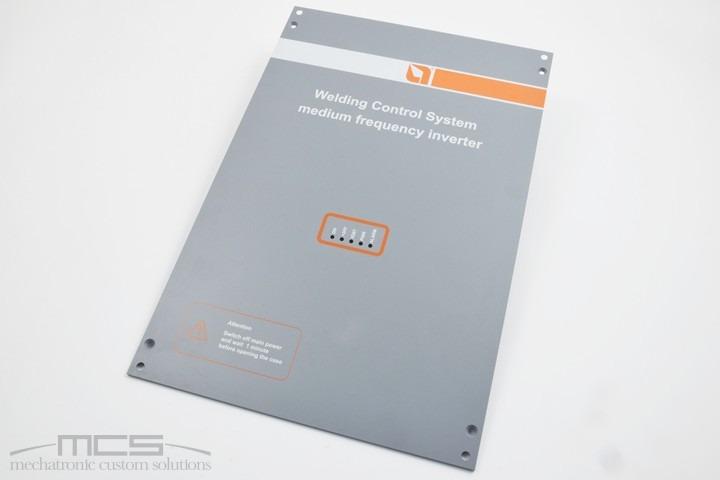 Pannello per elettronica in alluminio
