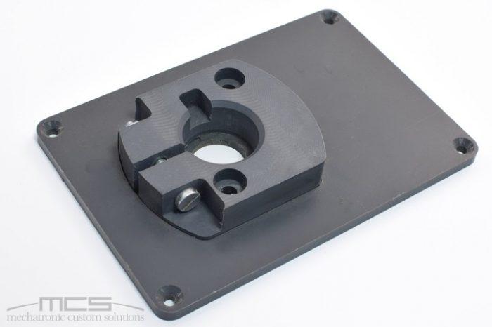 Particolare meccanico in PVC