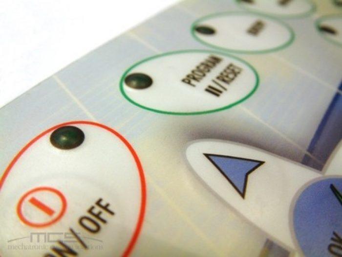 Tastiera a membrana e stampa digitale