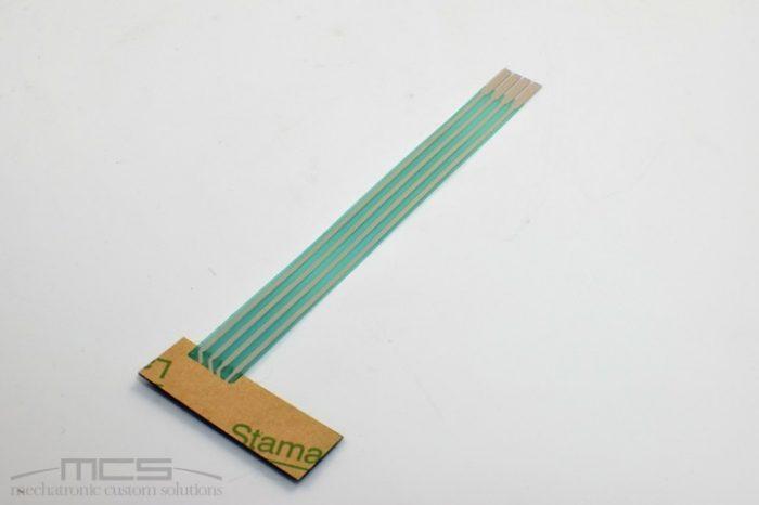 Tastiera a membrana con supporto