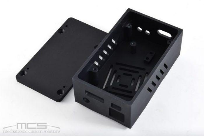 Contenitore elettronica in alluminio nero