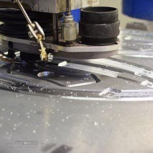 Dettaglio fresatura alluminio