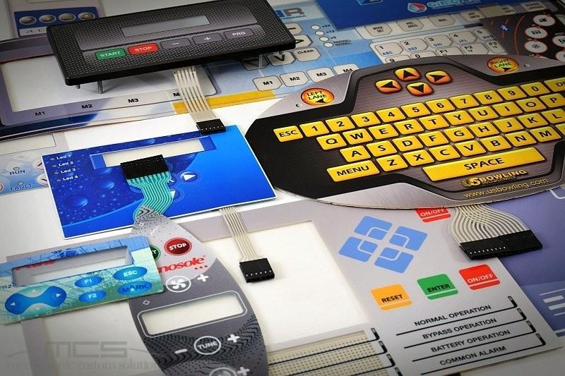 Stampa digitale o stampa serigrafica per le tastiere a membrana? - mix digitale