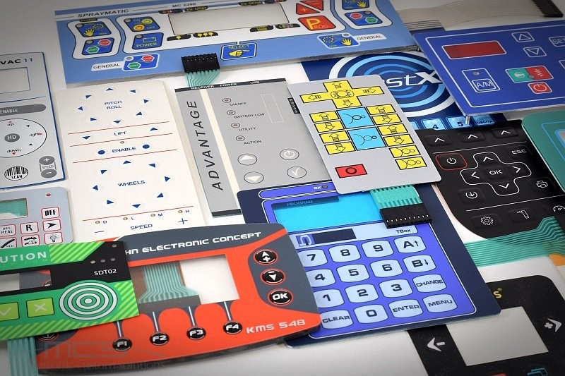 Stampa digitale o stampa serigrafica per le tastiere a membrana? - mix serigrafico