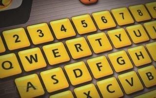 Stampa digitale o stampa serigrafica per le tastiere a membrana? - dettaglio digitale
