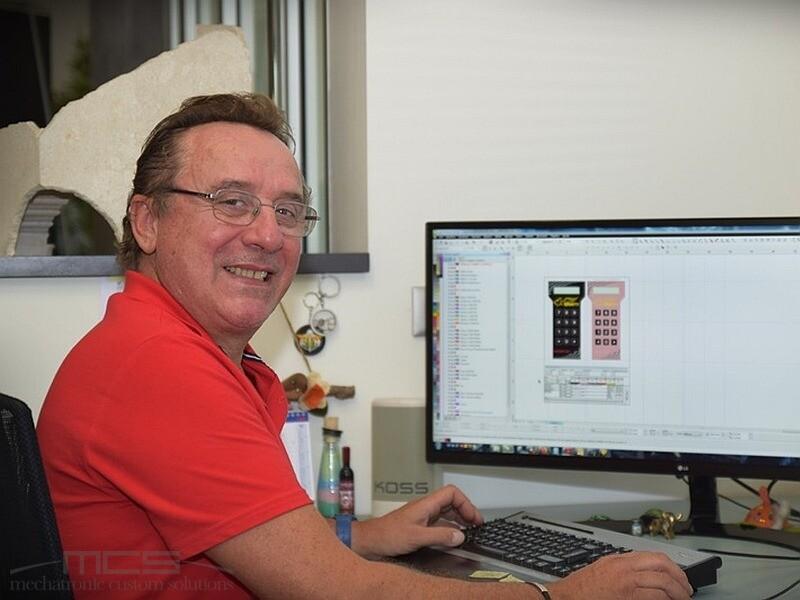 Progettazione di tastiere a membrana - Giovanni Frison di MCS - Veneto - 1