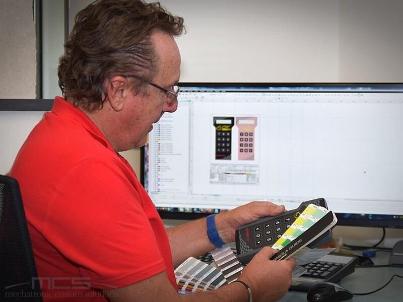 Progettazione di tastiere a membrana - Giovanni Frison di MCS - Veneto - 2